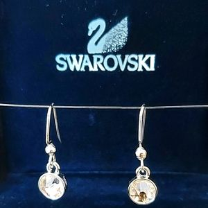 SWAROVSKI CRYSTAL EARRINGS NEW